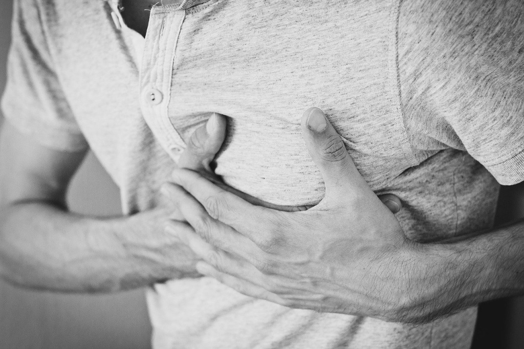Heart attack after bereavement